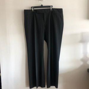 Gap black modern boot pants